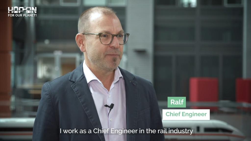 Hop on with Ralf – Chief Engineer