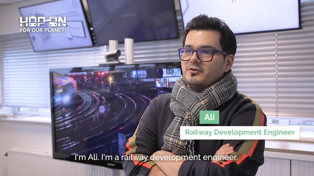 Hop on with Ali – Development Engineer
