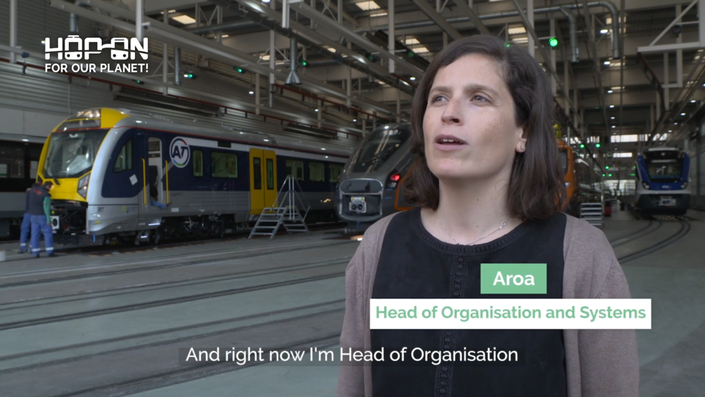 Hop on with Aroa – Head of Organisation and Systems
