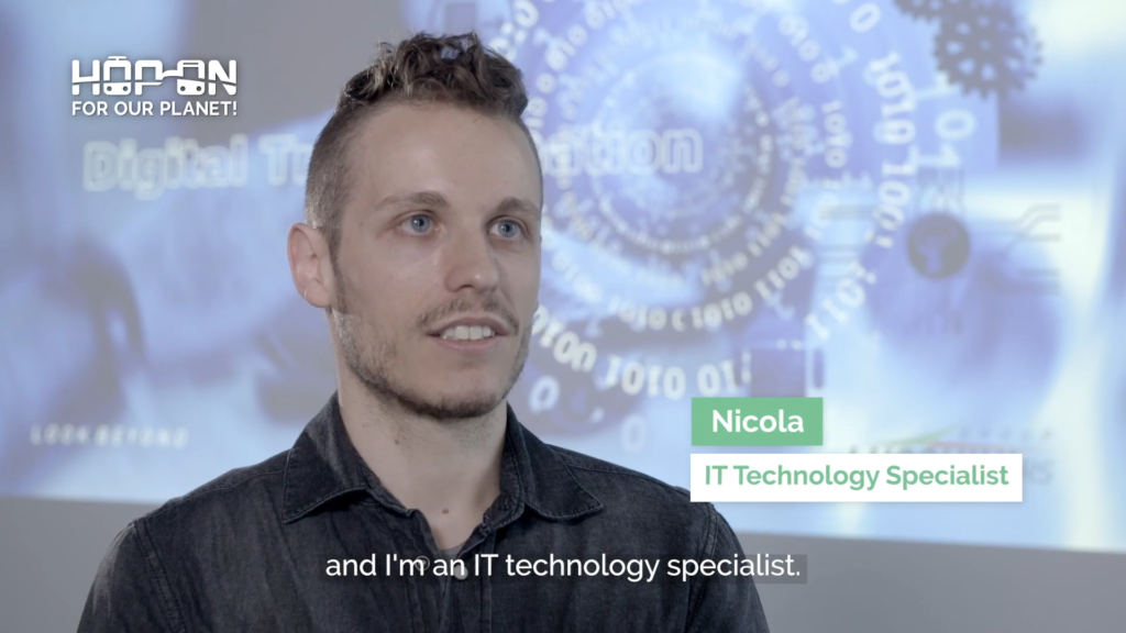 Hop on with Nicola – IT Technology Specialist