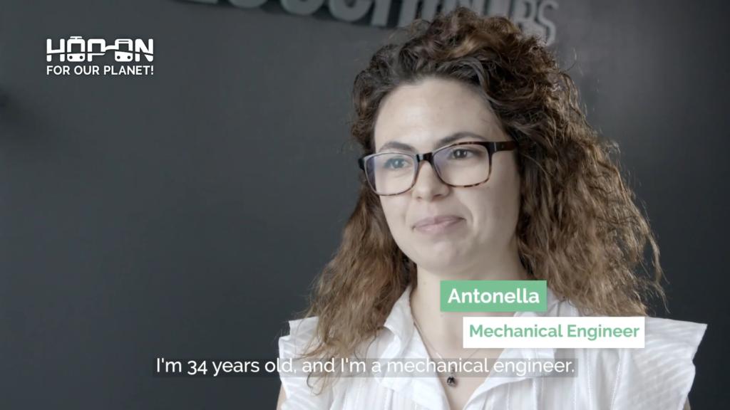 Hop on with Antonella – Mechanical Engineer