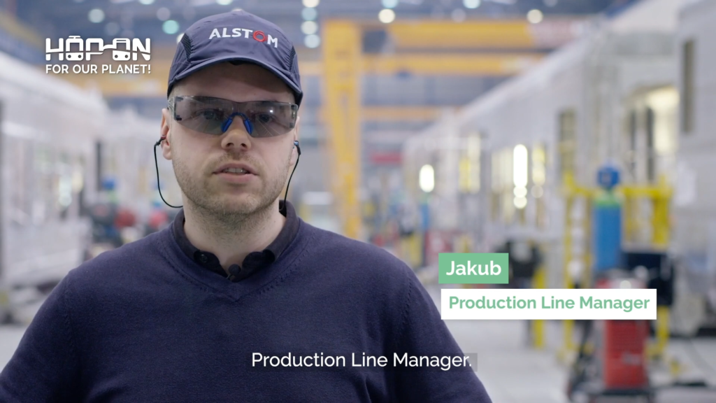 Hop on with Jakub – Production Line Manager