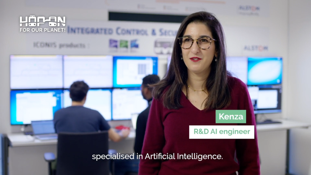 Hop on with Kenza – R&D AI Engineer