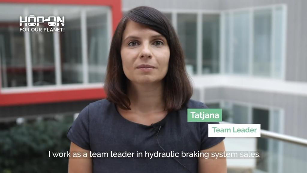 Hop on with Tatjana – Team Leader