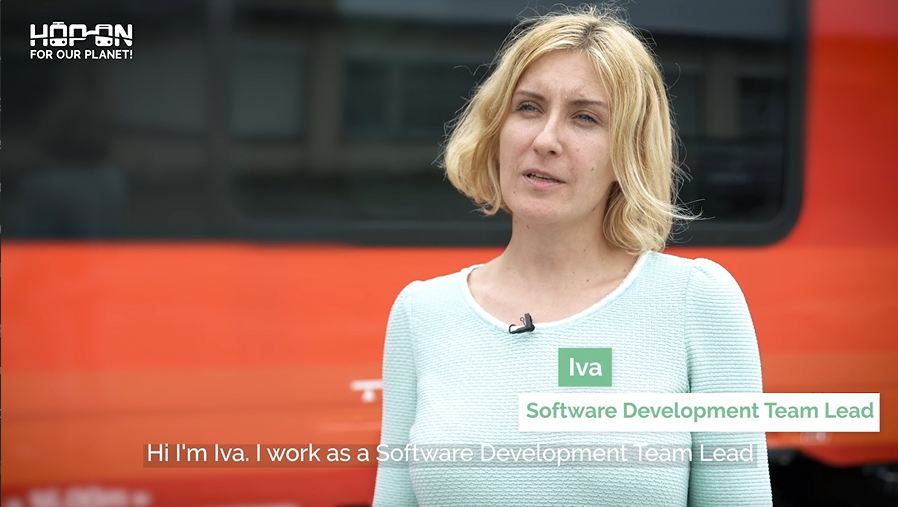 Hop on with Iva – Software Development Team Lead