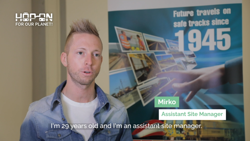 Hop on with Mirko – Assistant Site Manager