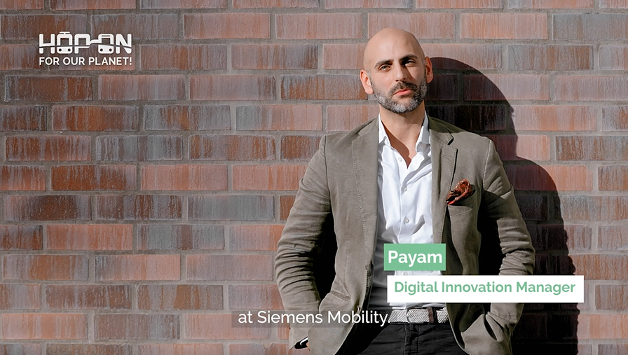 Hop on with Payam – Digital Innovation Manager