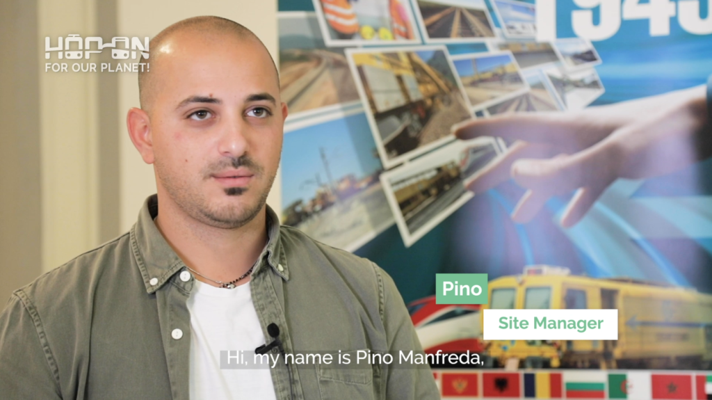 Hop on with Pino – Site Manager